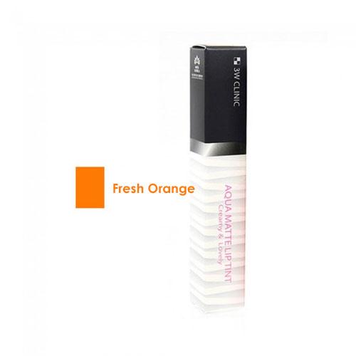 Aqua Matte Lip Tint #1 Fresh Orange