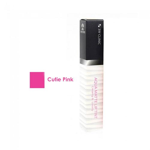 Aqua Matte Lip Tint #2 Cutie Pink