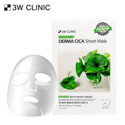 Essential Up Derma Cica Sheet Mask 10ea