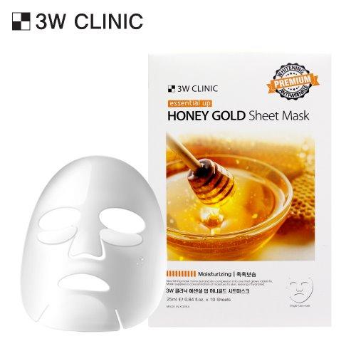 Essential Up Honey Gold Sheet Mask 10ea