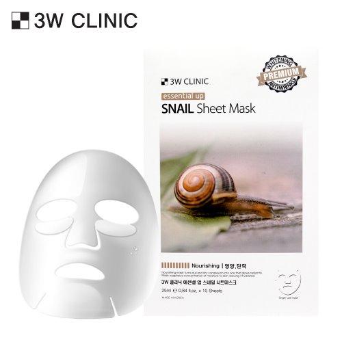Essential Up Snail Sheet Mask 10ea