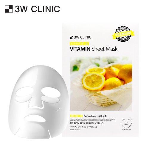 Essential Up Vitamin Sheet Mask 10ea