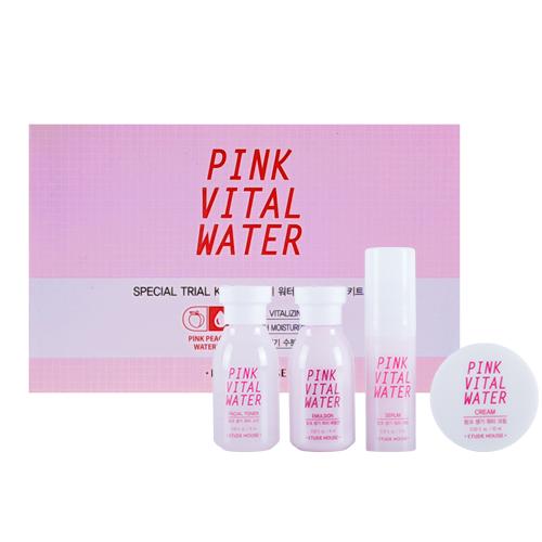 Pink Vital Water Kit 4 Items Trial Kit
