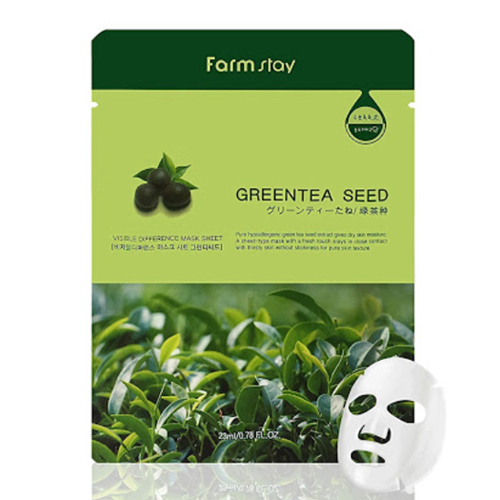 Visible Difference Mask Sheet 10ea - Green Tea Seed