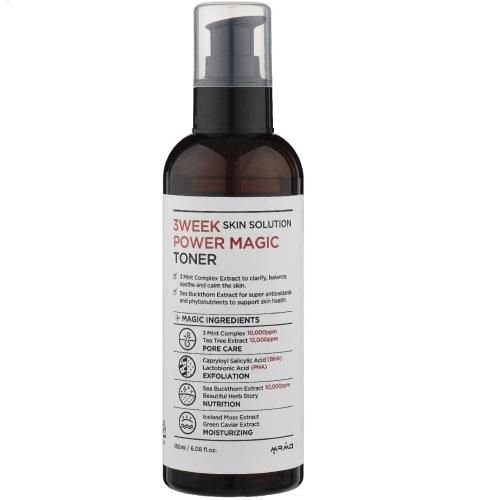 3Week Skin Solution Power Magic Toner 180ml
