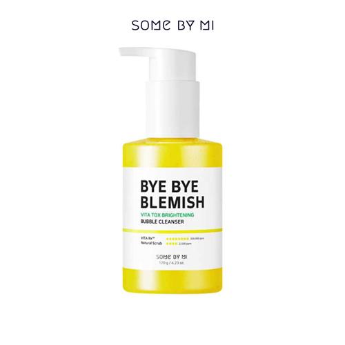 Bye Bye Blemish Vita Tox Brightening Bubble Cleanser 120g
