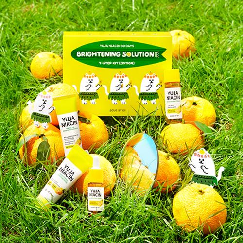 Yuja Niacin 30days Brightening Solution 4 Step kit
