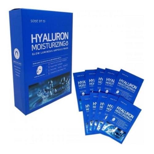 Hyaluron Moisturizing Glow Luminous Ampoule Mask 10ea