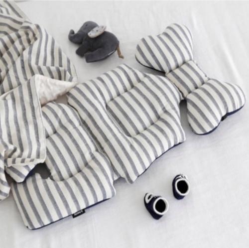 Liner - Horizontal Stripes (gray)