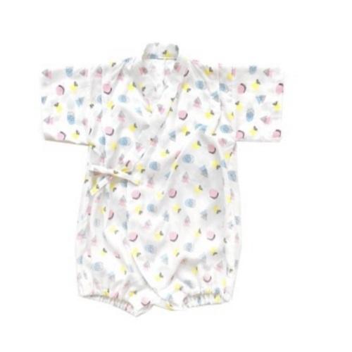 Tie-Side Onesie - Candypop, M size