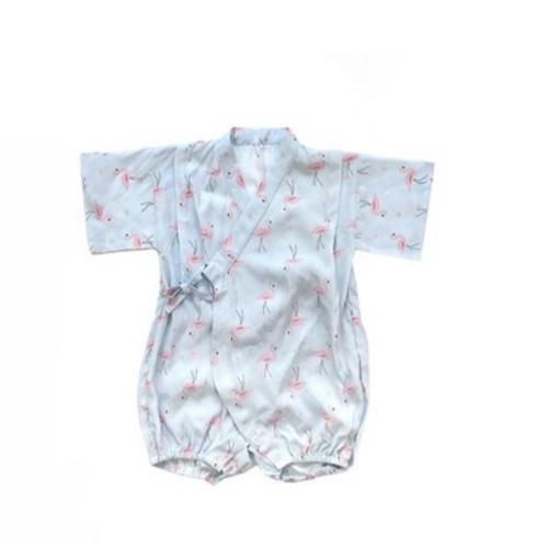 Tie-Side Onesie - Flamingo, L Size