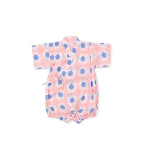 Tie-Side Onesie - Sunflower (Pink), L Size