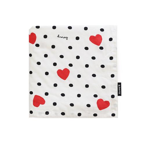 Large Blanket - Je T'aime (white)