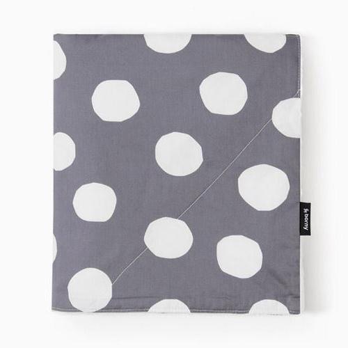 Large Blanket - Big Dot (gray)