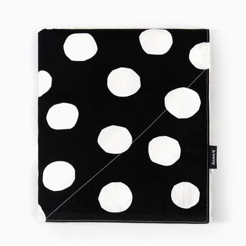Large Blanket - Big Dot (Black)