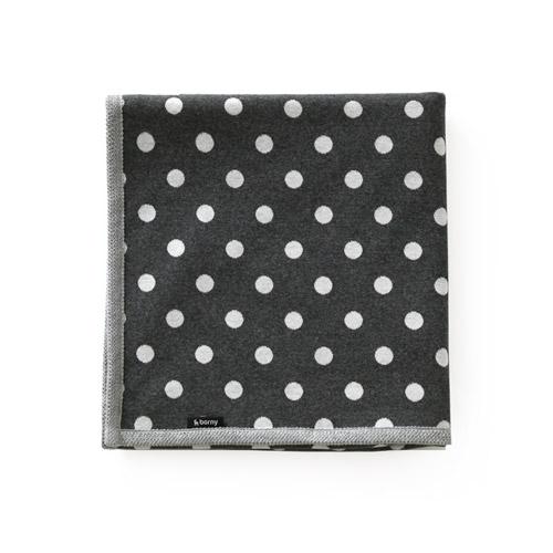 Large Blanket - Graysy Dots