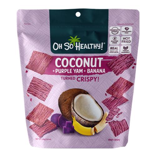 Coconut Purple Yam Banana 40g