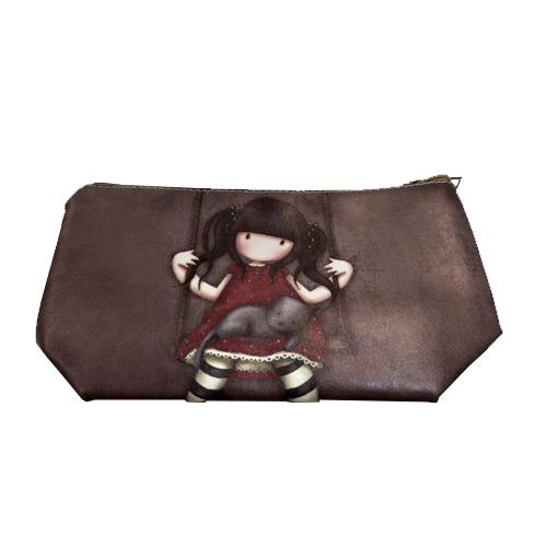 Little Girls Pouch - Brown Swing