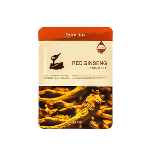 Visible Difference Mask Sheet 1ea - Red Ginseng