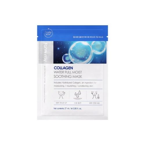 Collagen Water Full Moist Soothing Mask 27ml*1ea
