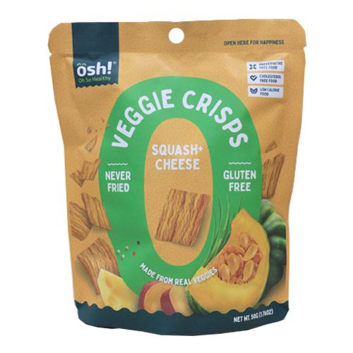 Veggie Crisps Squash Cheese 50g