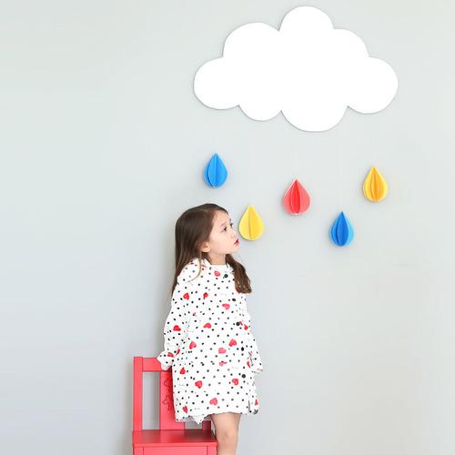 Raincoat - Je T'aime (White), L size