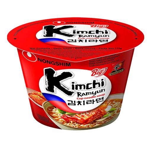 Kimchi Noodle Big Bowl 112g