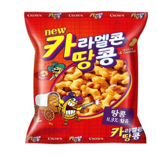 Peanut Caramel Corn Snack 72g