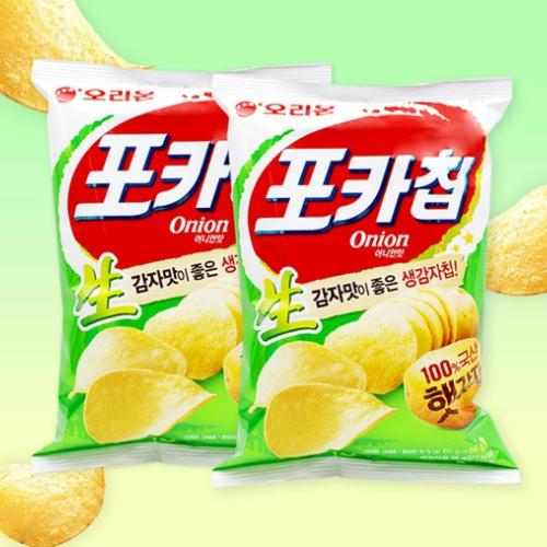 Poca Chip Onion Flavor 66g
