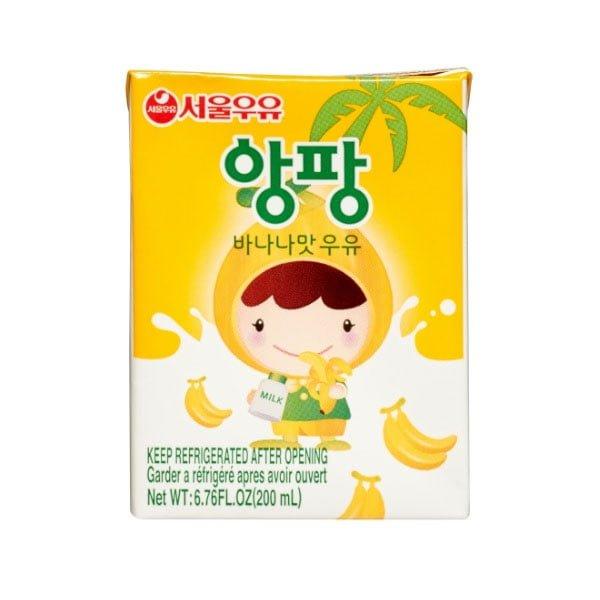 UHT Aseptic Angpang Banana milk 200ml
