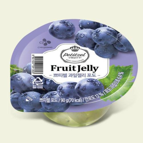 Petitzel Yogurt Jelly Blueberry 250g