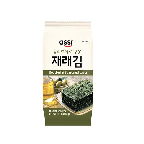 Roasted & Seasoned Oilve Oil Laver 4gx20pcs