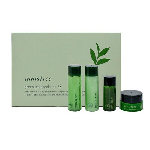 Green Tea Special Kit EX 4 Items