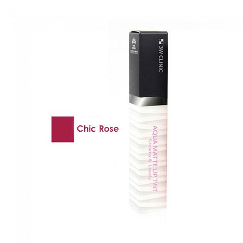 Aqua Matte Lip Tint #4 Chic Rose