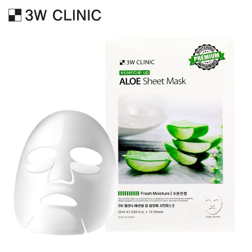 Essential Up Aloe Sheet Mask 10ea