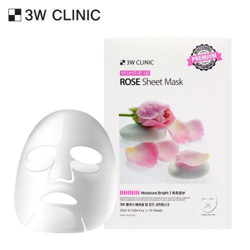 Essential Up Rose Sheet Mask 10ea