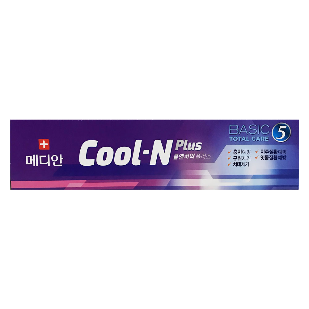 Cool-N Plus Basic Total Care 5 Toothpaste 90g - Lavender