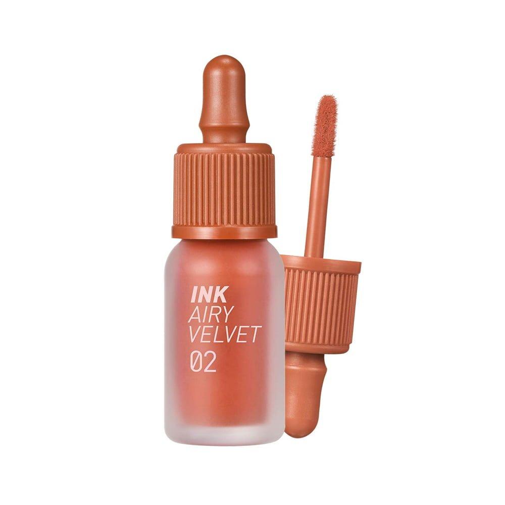 Ink Airy Velvet Tint Renewed Version #02 Selfie Orange Brown