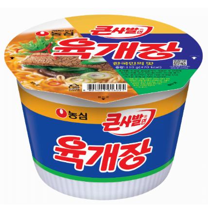 Yukgaejang Spicy Beef Noodle Big Bowl 110g