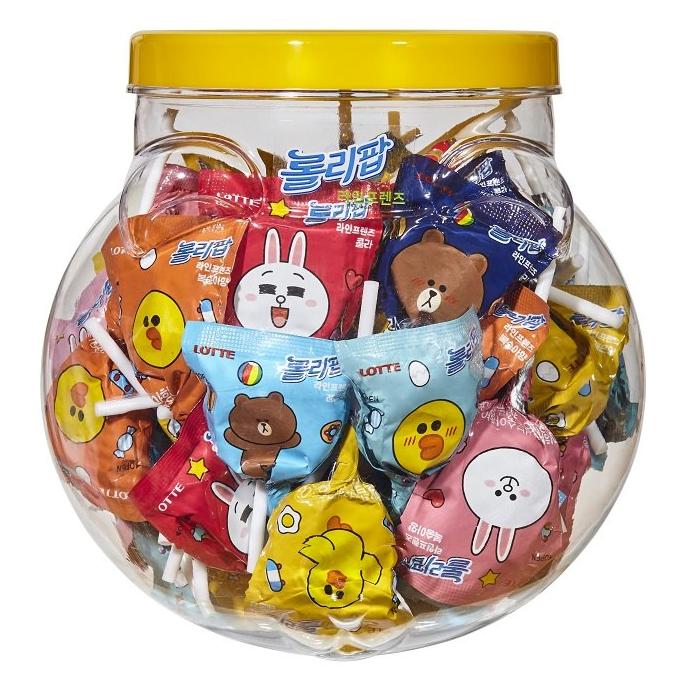 Lollipop Line Friends Container