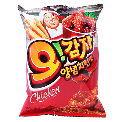 O! Gamja Spicy Chicken Flavor Potato Chips 50g