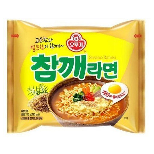 Sesame Flavor Ramen 115g (Contains Egg Block)
