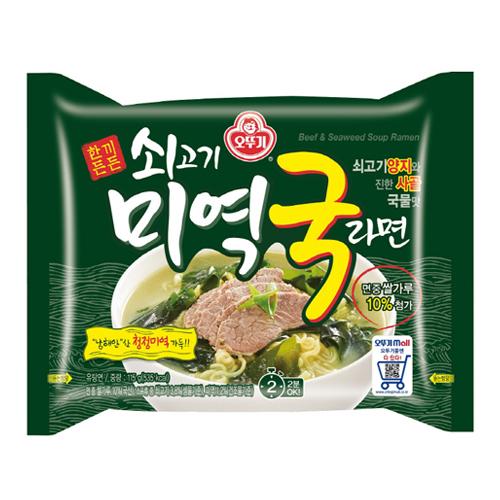 Beef Seaweed Soup Ramen 115g