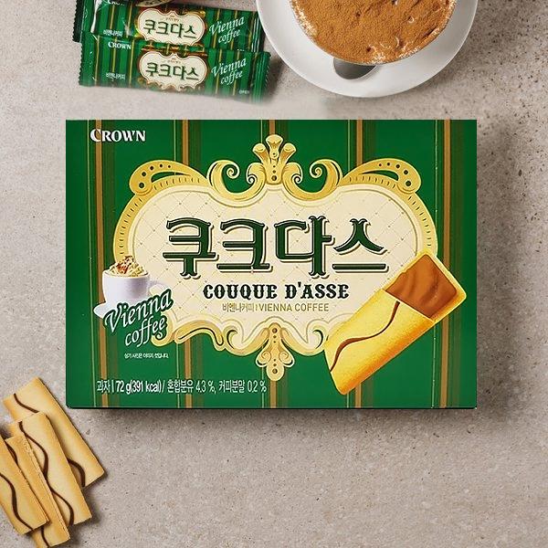 Couque Dasse Vienna Coffee flavor 72g