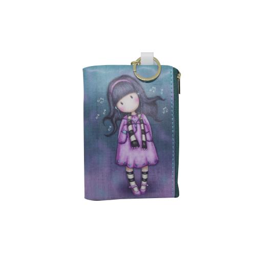 Little Girls Wallet with Keychain - Luis