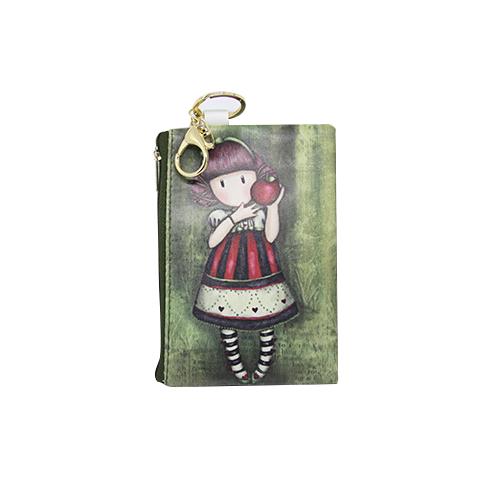 Little Girls Wallet with Keychain - Mina
