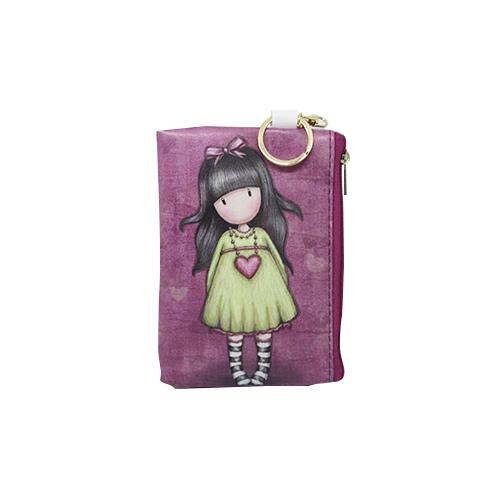 Little Girls Wallet with Keychain - Yuri