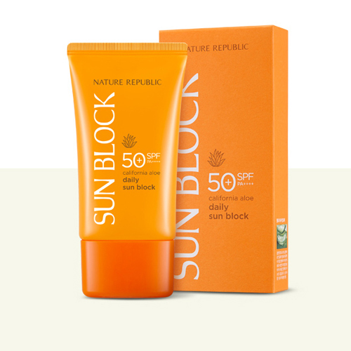 California Aloe Daily Sun Block SPF50+PA+++ 57ml