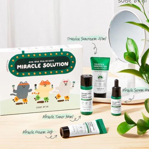 AHA BHA PHA 30Days Miracle Solution 4 Step Kit