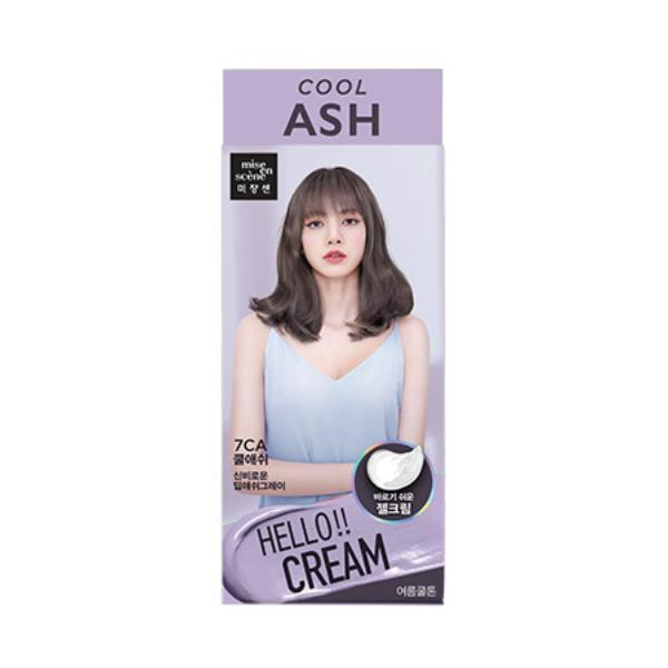 Hello Cream Hair Dye (Cool Ash)